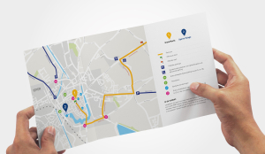 Tour de France kaartje